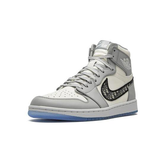 Air Jordan 1 High Outfit Grey White Jordan Sneakers