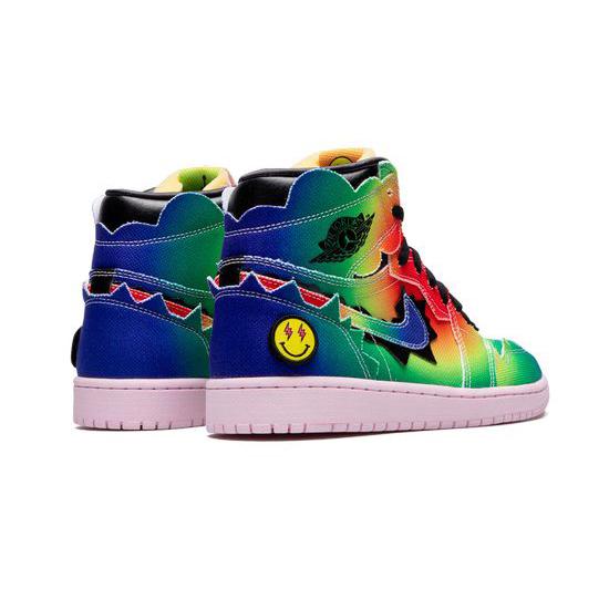 Air Jordan 1 High Outfit Multi Jordan Sneakers