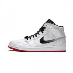 Air Jordan 1 High Outfit X Clot White Jordan Sneakers