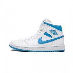 Air Jordan 1 Mid Outfit UNC Jordan Sneakers