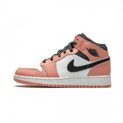 Air Jordan 1 Mid Outfit Pink Quartz Jordan Sneakers