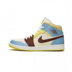 Air Jordan 1 Mid Outfit Se Fearless Maison Chateau Jordan Sneakers