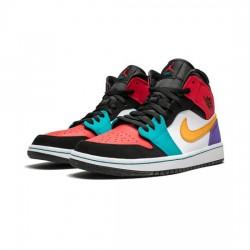 Air Jordan 1 Mid Outfit Se Wmns Multi Patent Jordan Sneakers