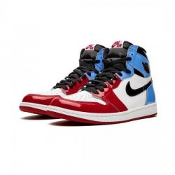 Air Jordan 1 High Outfit Fearless Blue White CK5666 100