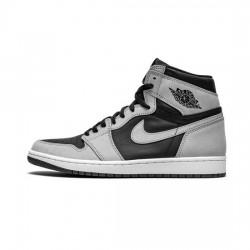 Air Jordan 1 High Outfit OG Shadow 2.0 Grey White Black Women Men AJ1 555088 035