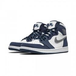 Air Jordan 1 Retro High Outfit Outfit Co Jp Midnight Navy Jordan Sneakers
