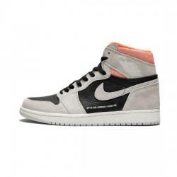 Air Jordan 1 Retro High Outfit Og Neutral Grey Hyper Crimson Jordan Sneakers