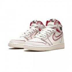 Air Jordan 1 Retro High Outfit Phantom Gym Red Jordan Sneakers