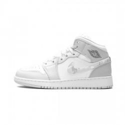 Air Jordan 1 Retro High Outfit Premium Grey Camo Jordan Sneakers
