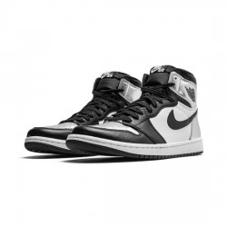 Air Jordan 1 Retro High Outfit Silver Toe Jordan Sneakers