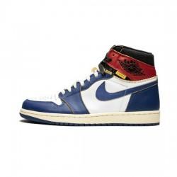 Air Jordan 1 Retro High Outfit Union Los Angeles Blue Toes Jordan Sneakers