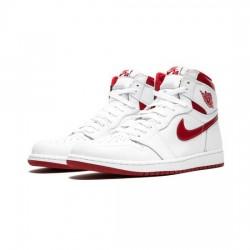 Air Jordan 1 Retro Outfit Metallic Red Jordan Sneakers
