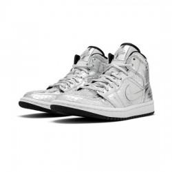 Air Jordan 1 Retro Mid Outfit Disco Ball Jordan Sneakers