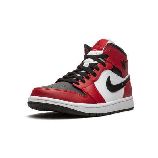 Air Jordan 1 Retro Outfit Chicago Red Black White Women Men AJ1 555088 101