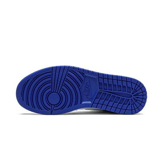Air Jordan 1 Retro High Outfit Game Royal White Black Blue Women Men AJ1 555088 403