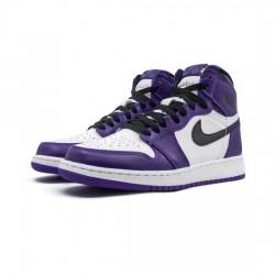 Air Jordan 1 Retro High Outfit OG Court Purple 2.0 White Women Men AJ1 Shoes 555088 500