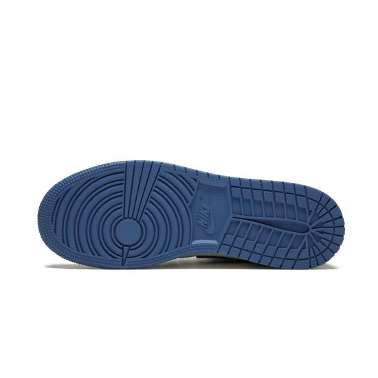 Air Jordan 1 Retro High Outfit OG Summit White Blue Moon Black Men AJ1 575441 115