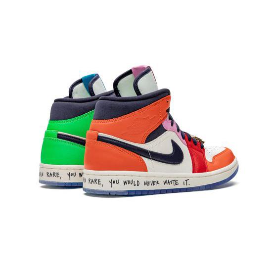 Melody Ehsani X Wmns Air Jordan 1 Mid Outfit Fearless Jordan Sneakers