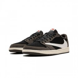 Travis Scott X Air Jordan 1 Low Outfit Mocha Jordan Sneakers