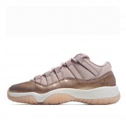 Air Jordan 11 Retro Outfit Low Outfit Rose Gold AH7860 105 Womens AJ11 Jordan Sneakers