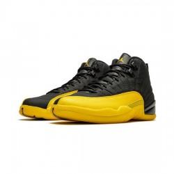 Air Jordan 12 Retro Outfit Black University Gold Jordan Sneakers