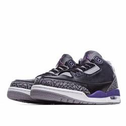 Air Jordan 3 Retro Outfit Black Court Purple CT8532 050 Mens AJ3 Jordan Sneakers