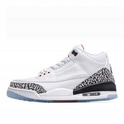Air Jordan 3 Retro Outfit Free Throw Line White Cement 923096 101 Mens AJ3 Jordan Sneakers
