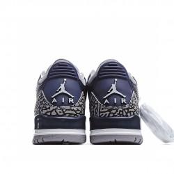 Air Jordan 3 Retro Outfit Georgetown CT8532 401 Mens AJ3 Jordan Sneakers