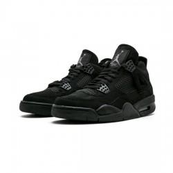 Air Jordan 4 Outfit Black Cat Jordan Sneakers