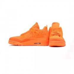Air Jordan 4 Retro Outfit Flyknit Orange Jordan Sneakers