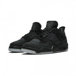 Air Jordan 4 Outfit X Kaws Black Jordan Sneakers