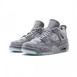 Air Jordan 4 Outfit X Kaws Gray Jordan Sneakers