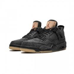 Air Jordan 4 Outfit X Levis Black Jordan Sneakers