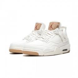 Air Jordan 4 Outfit X Levis White Jordan Sneakers
