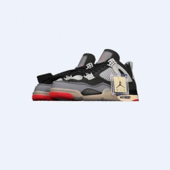 Off White X Air Jordan 4 Outfit Bred Jordan Sneakers
