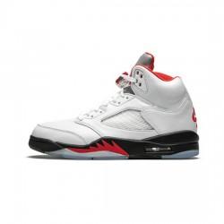 Air Jordan 5 Outfit Fire Red Jordan Sneakers