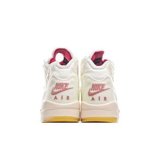 Off White X Air Jordan 5 Outfit White Jordan Sneakers