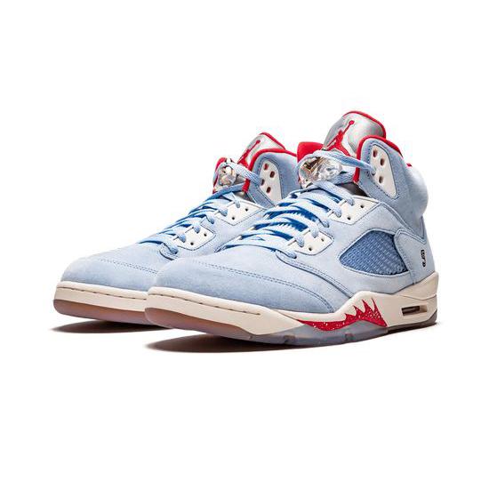Trophy Room X Air Jordan 5 Retro Outfit Ice Blue Jordan Sneakers
