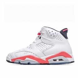 Air Jordan 6 Retro Outfit Infrared White 384664 123 Unisex AJ6 Jordan Sneakers