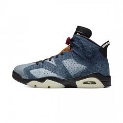 Air Jordan 6 Outfit Washed Denim Jordan Sneakers