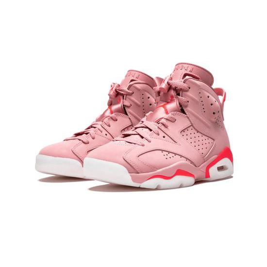 Aleali May X Wmns Air Jordan 6 Retro Outfit Millennial Pink Jordan Sneakers